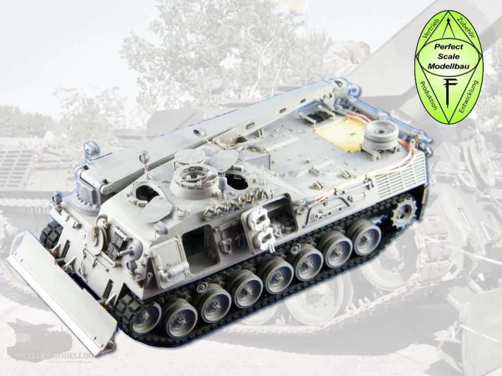 Perfect Scale Modellbau: Bergepanzer 2 Detail Upgrade Kit