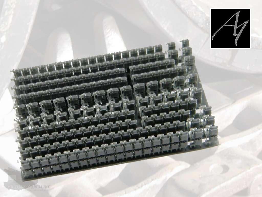A1 CAD Design & 3D Print: Leopard 1 Kette, Typ Diehl 640