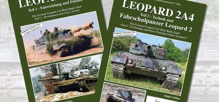 Tankograd Publishing: Militärfahrzeug Spezial 5083 und 5084– Leopard 2A4