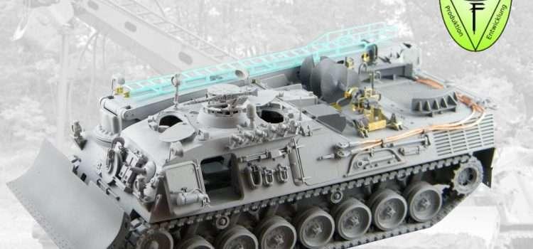 Perfect Scale Modellbau: Leopard 1 Pionierpanzer 1