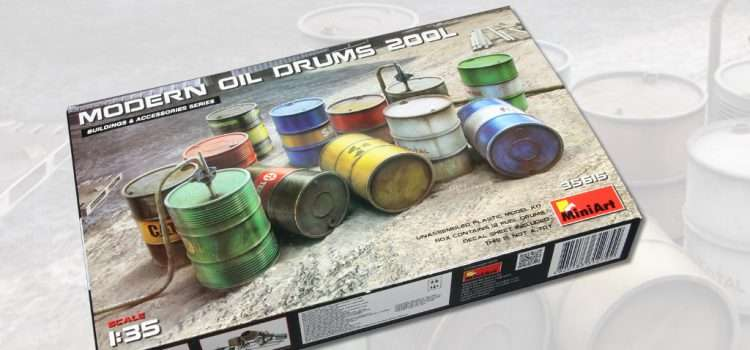 MiniArt: Modern Oil Drums 200l