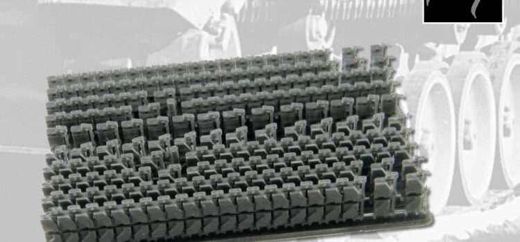 A1 CAD Design & 3D Print: Leopard 1 Kette, Typ Diehl 139E2