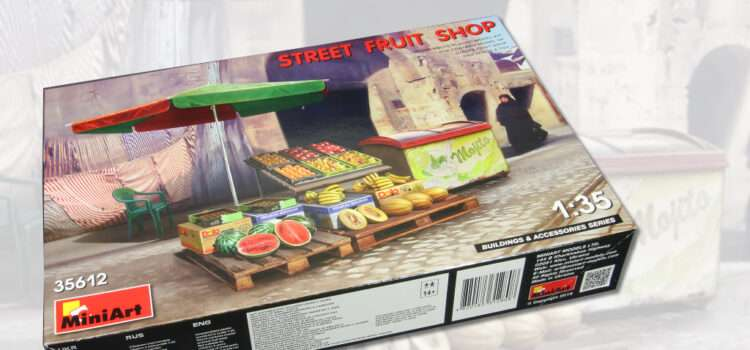 MiniArt: Street Fruit Shop