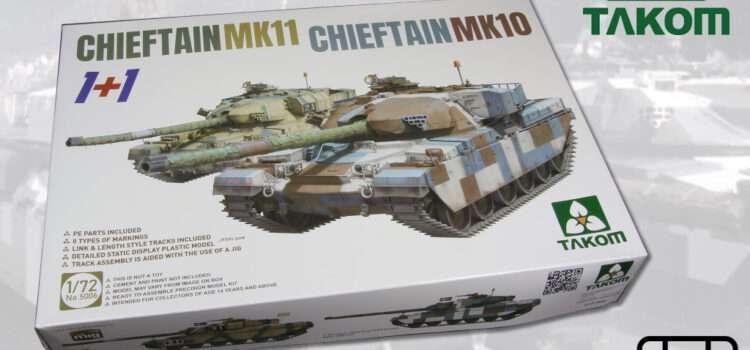 TAKOM: Chieftain Mk11 und Chieftain Mk10