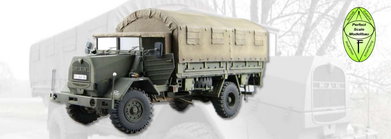 Perfect Scale Modellbau: MAN 630 L2AE