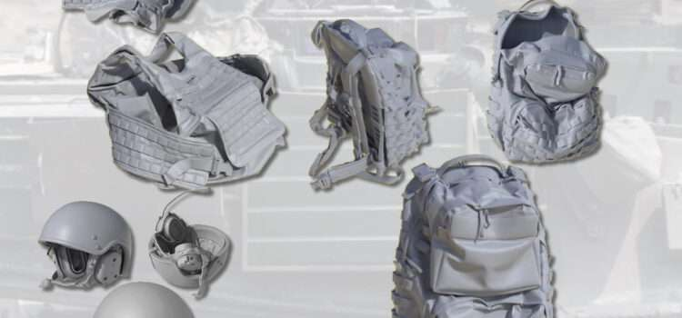 JASON STUDIO: U.S. Crew Helmet, Bulletproof Vest, Assault Backpack
