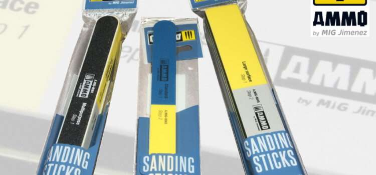 AMMO by Mig: Sanding Sticks