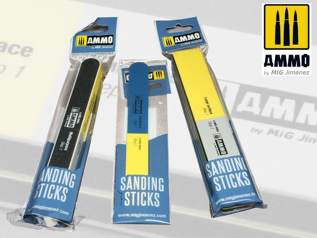 AMMO by Mig: Sanding Sticks