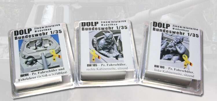 DOLP Modellbau: Figuren Panzerfahrschule Leopard 1