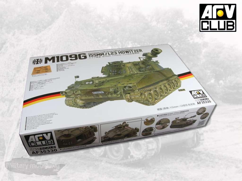 AFV Club: M109G 155MM/L23 HOWITZER