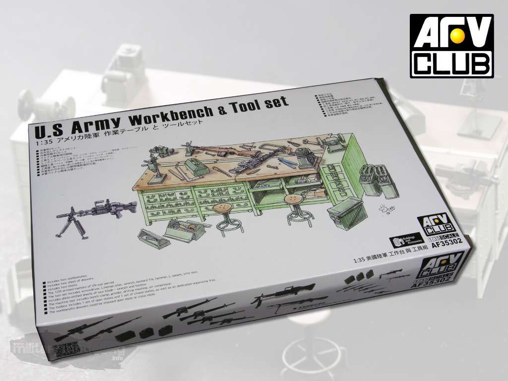 AFV Club: U.S. Army Workbench & Tool Set