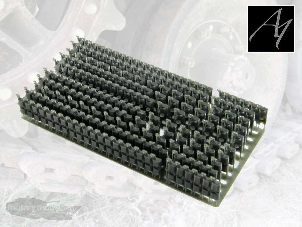 A1 CAD Design & 3D Print: Marder 1A1 – A3 Kette, Typ Diehl 828A