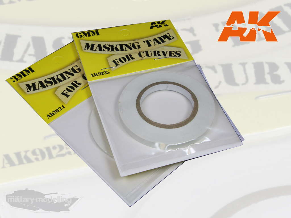 AK Interactive: Masking Tape for Curves