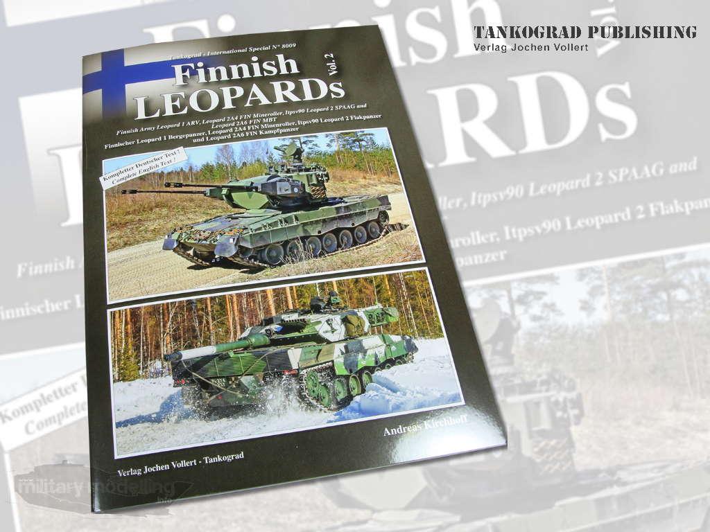 Tankograd Publishing: International Special 8009 – Finnish Leopards vol. 2