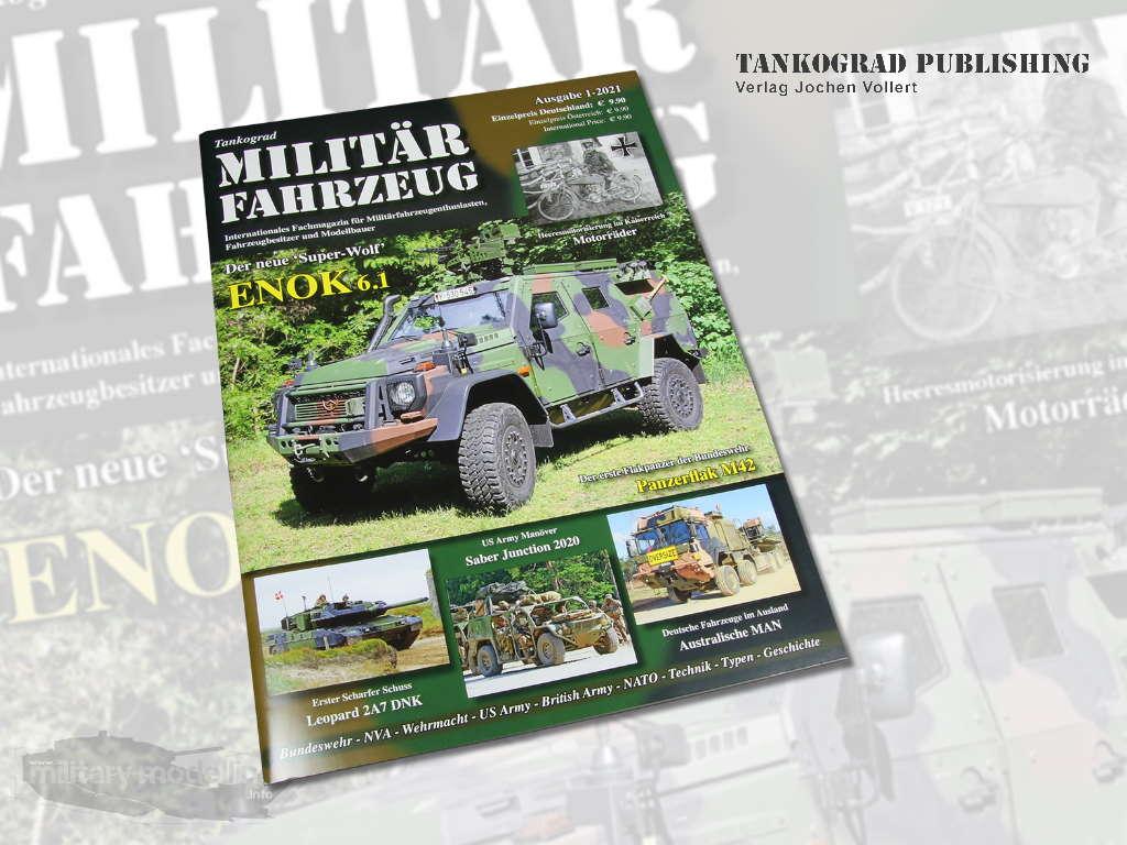 Tankograd Publishing: Militärfahrzeug 1-2021