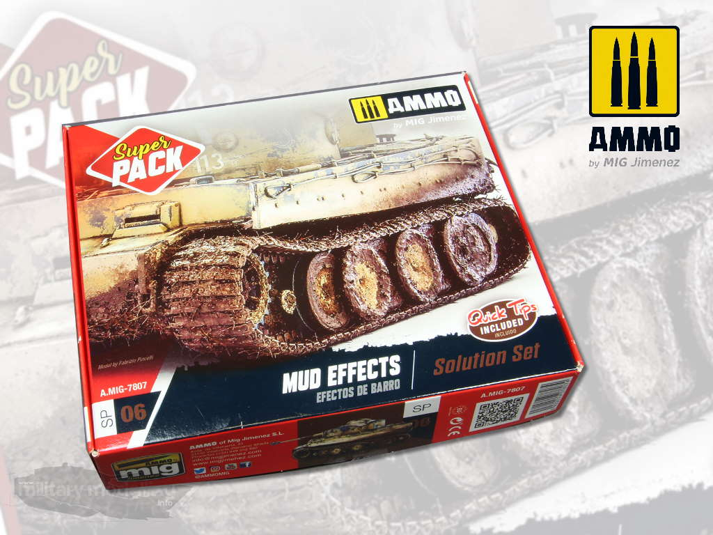 AMMO by Mig: Super Pack Mud Effects