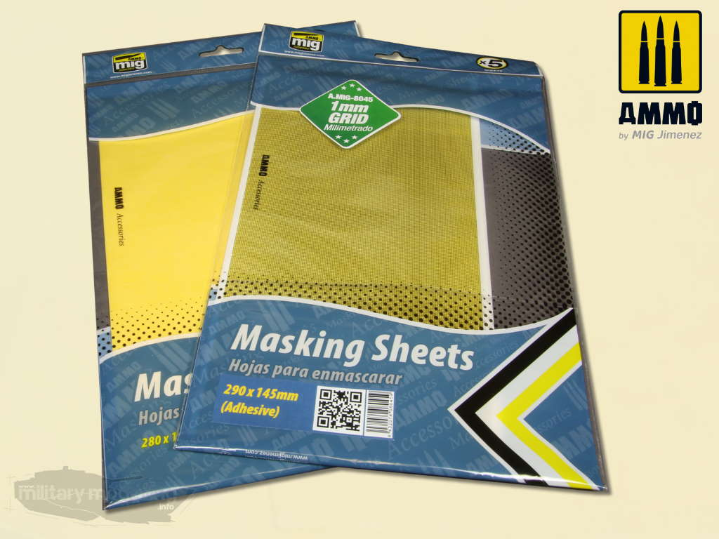 AMMO by Mig: Masking Sheet