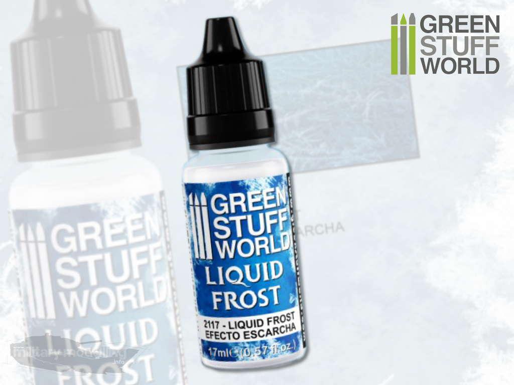 Green Stuff World: Liquid Frost