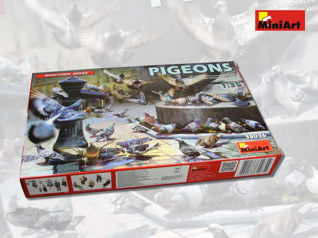 MiniArt: Pigeons