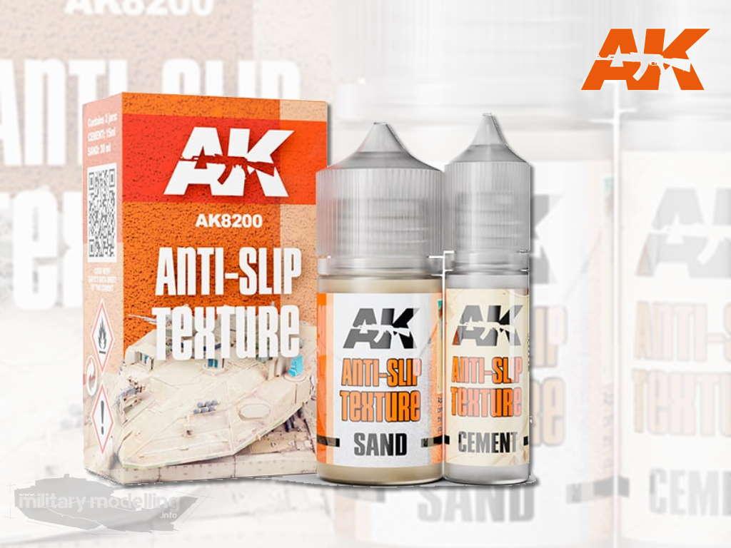 AK Interactive: Anti-Slip Texture