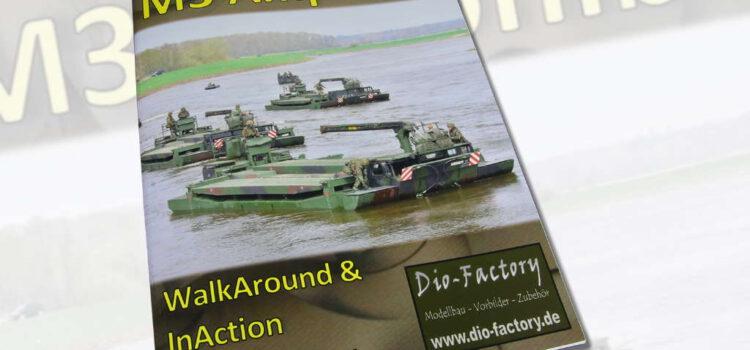 Dio-Factory: WalkAround & InAction – Schwimmschnellbrücke M3 Amphibie