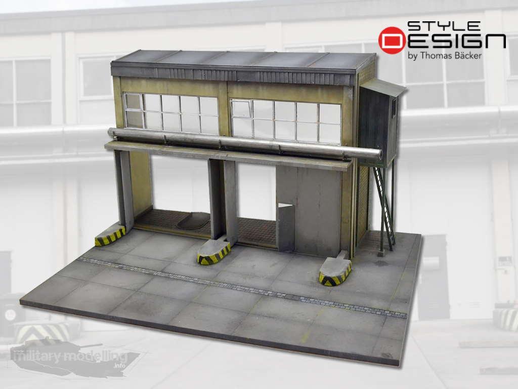 Style Design by Thomas Bäcker: Fahrzeughalle Bundeswehr