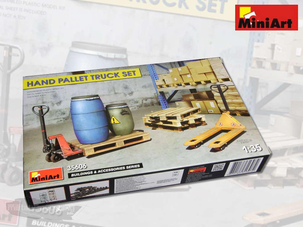 MiniArt: Hand Pallet Truck Set