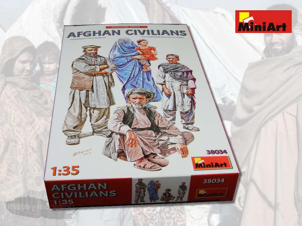 MiniArt: Afghan Civilians