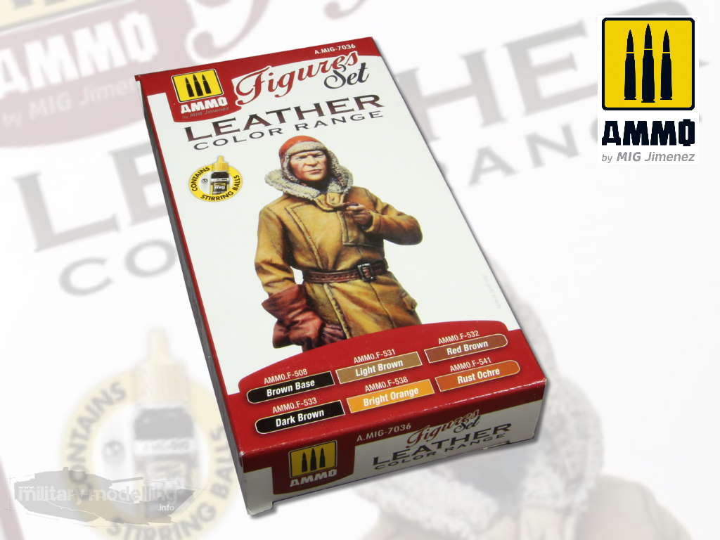 AMMO by Mig: Leather Figures Set