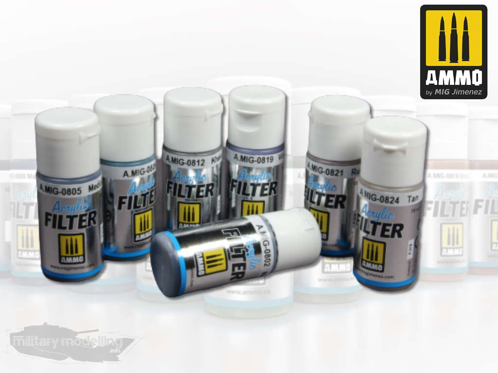 AMMO by Mig: Acrylic Filter