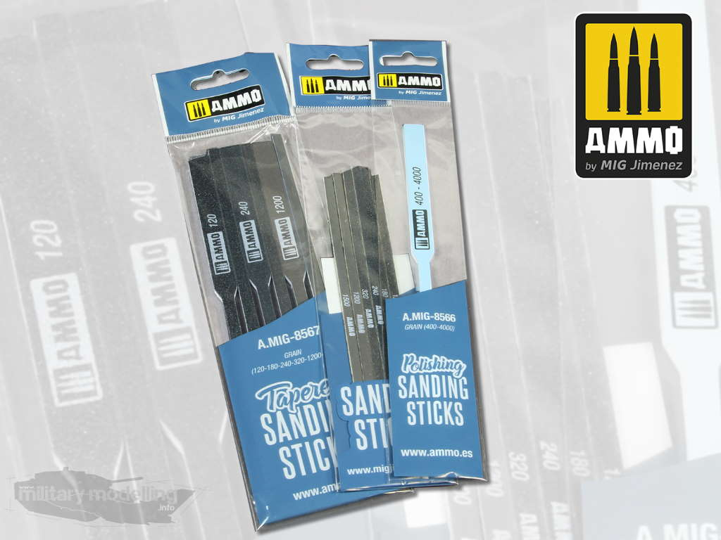 AMMO by Mig: Polishing, Tapered and Contour Sanding Stik