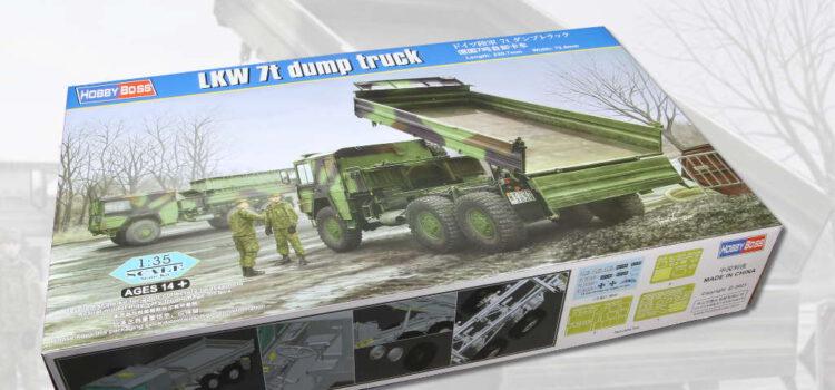 Hobbyboss: LKW 7t dump truck