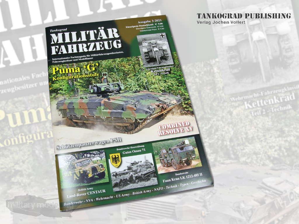 Tankograd Publishing: Militärfahrzeug 3-2021