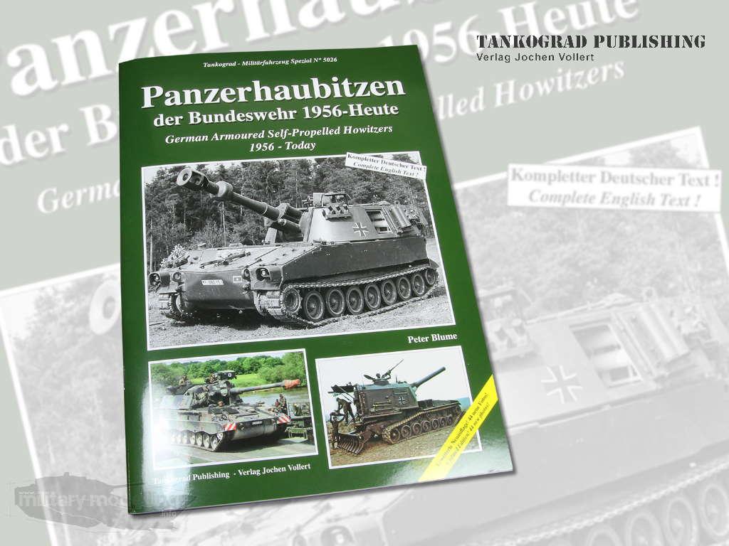 Tankograd Publishing: Militärfahrzeug Spezial 5026 – Panzerhaubitzen der Bundeswehr 1956-Heute